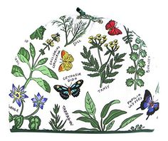 McCaw Allan Butterflies and Herbs Cotton Tea Cosy >>> Check out the image by visiting the link.