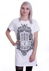 Ironnail - Herzberg Long White - T-Shirt