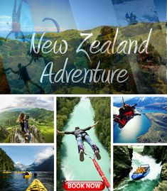 Get your heart pumping with sky diving, rafting, bungee jumping and New Zealand adventure sports too extreme to miss.