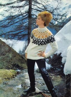 Fair Isles Knit Sweater | Fair isle knitting, Fair isles and ...