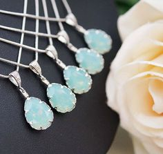 Bridesmaids Jewelry: Necklaces, Earrings, Bracelets - Page 2
