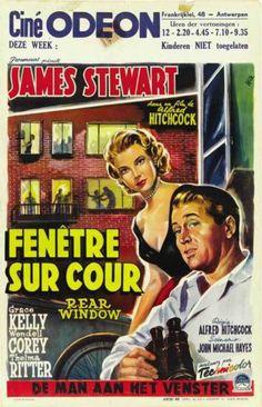 L'affiche pour Fenetre Sur Cour