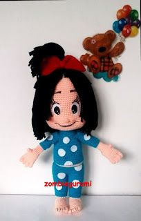 Cool Clipart, Knit Crochet, Crochet Hats, Amigurumi Doll, Baby Toys, Minnie Mouse, Teddy Bear, Clip Art, Lily