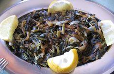 Vegetarian Sauteed Dandelion Recipe – Sleek M'alla | Mama's Lebanese Kitchen