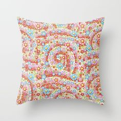 Throw Pillow made from 100% spun polyester poplin fabric, a stylish statement that will liven up any room. Individually cut and sewn by hand, each pillow features a double-sided print and is finished with a concealed zipper for ease of care.  Sold with or without faux down pillow insert. #PatriciaSheaDesigns