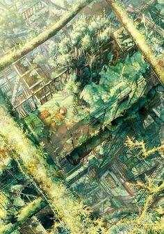 新緑廃工場 | たみ。 [pixiv] http://www.pixiv.net/member_illust.php?mode=medium_id=36022374