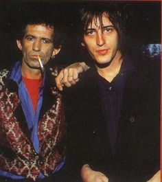 Keith Richards and Izzy Stradlin!!!
