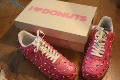 How cool!! I used to be obsessed with pink iced doughnuts!!