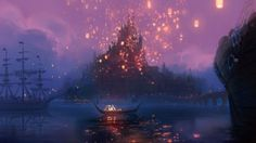 Concept art from Tangled