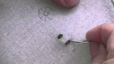Lecciones de bordado de Marie Suarez: Point de Bouclette o punto de margarita