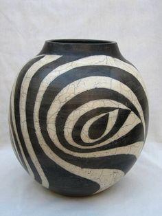 Terry Hagiwara abstract vase
