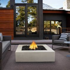 Mezzo Propane Fire Pit Table & Reviews | AllModern