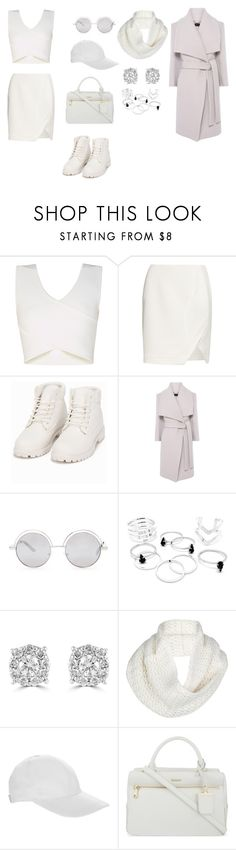 """""""NANA"""" by nanaki999 ❤ liked on Polyvore featuring BCBGMAXAZRIA, Thierry Mugler, Nly Shoes, Karen Millen, Forever 21, Effy Jewelry, UGG Australia, OLYMPIA Activewear, DKNY and women's clothing"""