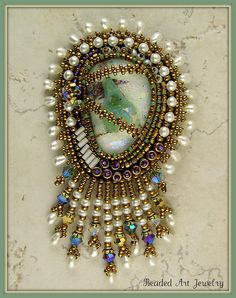 Paisley Pearl Brooch | Flickr - Photo Sharing!