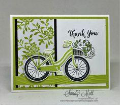 Bike Ride and Lemon Lime Twist - created by Sandy Mott