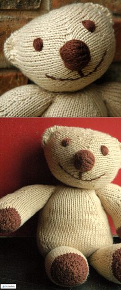 53 Best Teddy Bear Knitting Patterns Images On Pinterest In 2018