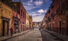 San Miguel de Allende - Another street capture from San Miguel de Allende in Mexico