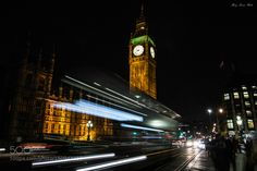Big Ben by night by MaryPavia