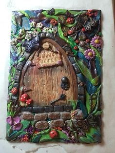 New design polymer clay book cover: