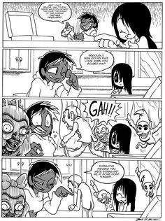 Erma,comics,funny comics & strips, cartoons,Brandon Santiago