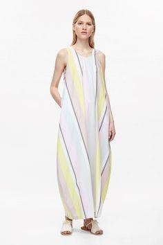 COS   Oversized striped dress