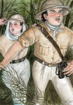 Jungle Explorers by Johanna Öst