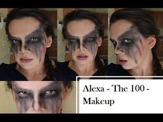 The 100 - Lexa Makeup -TV Show This is a makeup look for Lexa (The Commander) from the 100. First I just did bronzer all over the face and concentrated under...