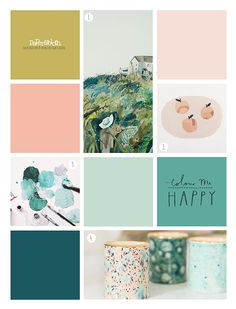 paperandcloth: Colour Me Happy