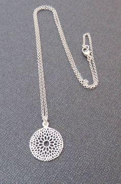 Sterling Silver Fili  Sterling Silver Fili  Sterling Silver Fili  Sterling Silver Fili  Sterling Silver Filigree Necklace | Handmade Jewelry Marcia H Designs