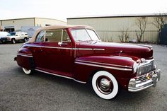 1947 Mercury Deluxe Convertible Coupe