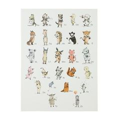 A to Zebra Wall Art   The Land of Nod  H is for ..... Hedge Hog <3
