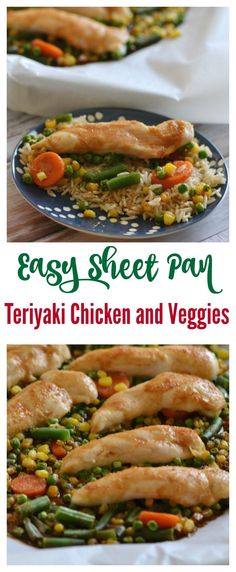 Easy Sheet Pan Teriy