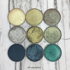 @futilitiesmore is gettin' that green! Don't forget...you can click the link in our bio to see and shop each of these Makeup Geek shades.