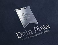 Projeto de identidade visual desenvolvido para os músicos da Dela Plata, especializados em fazer a trilha sonora de momentos especiais como casamentos e outras festas elegantes.`