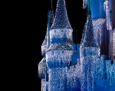 Disneyland at Christmas. Love.