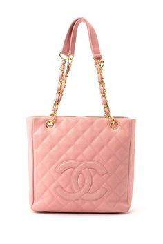Vintage Chanel Leather Matelasse Chain Shoulder Bag