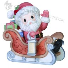 Precious Moments - Christmas - Santa's on His Way   #151020
