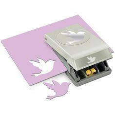 EK Success Punch - Bird, 2.38 X1.68, Silver