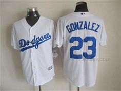 http://www.xjersey.com/dodgers-23-gozalez-white-new-cool-base-jersey.html DODGERS 23 GOZALEZ WHITE NEW COOL BASE JERSEY Only 33.11€ , Free Shipping!
