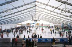 Veranstaltungszelt - Wintersport Eishockey #Sportevent #Großzelt #Eventzelte