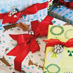 Adorn Your Gifts - 101 fresh christmas decorating ideas - Southern Living