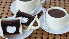 Cupcakes decorated to look like coffee cups make a wonderful dessert to bring…