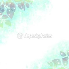 Download - Gentle background with the sparkling leaves, azure — Stock Image #114958298