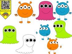 Yasmin Free Monsters contains 24 image files in png and jpg.All images are 300 dpi for better scaling and printing.These monsters are perfect for new projects.
