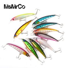 1PCS 10 Color New Road Sub Minnow 13.4g Top Quality Hunting Wobbler Lifelike 3d Eye Baits Hunting Swim Bionic Hard Fishing Lure <3 Encontrar más información haciendo clic en la imagen