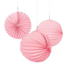 Small Pink Party Lanterns - OrientalTrading.com $15.00 for 12
