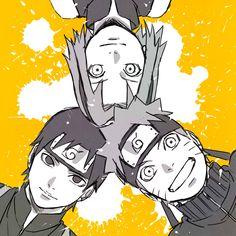 Naruto Shippuden, Boruto, Kakashi, Anime Naruto, Anime Manga, Naruto Teams, Team 7, Teen Titans, Anime Love