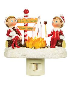Take a look at this Elf Flicker Night-Light by Roman, Inc. on #zulily today!