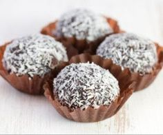 Raw Cacao Truffles - Kimberly Snyder