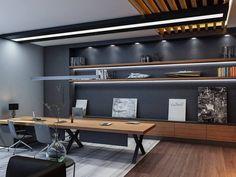 """Antalya'da bulunan """"Ares Tersanesi"""" yönetim binasının iç mekan tasarım projesi."""